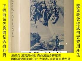 二手書博民逛書店Milton s罕見Good God : A Study in Literary Theodicy Cambrid