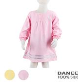 【岱妮蠶絲】DZ7422P兒童氣質絹紡蠶絲洋裝(80-140cm)