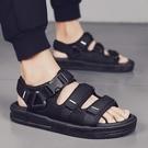室外穿男士運動休閒涼鞋厚底防滑