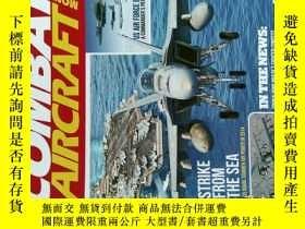 二手書博民逛書店COMBAT罕見AIRCRAFT MONTHLY 2014 03 世界軍事航空雜誌Y14610