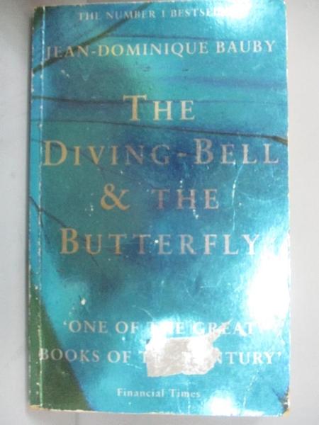 【書寶二手書T1/原文小說_OFG】The diving-bell and the butterfly_Bauby, Jean-Dominique,
