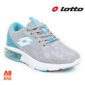 【LOTTO】女款 氣墊慢跑鞋 -灰藍色 (L6626)全方位跑步概念館