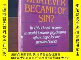二手書博民逛書店Whatever罕見because of Sin? (原罪之贖)