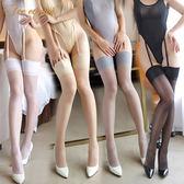 情趣內衣女騷透明長筒連身襪性感極度誘惑超薄黑絲襪防勾絲7231【新品上市】