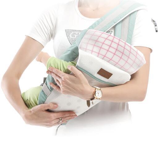 嬰兒背帶嬰兒背帶腰凳多功能四季通用可橫抱前抱式初生寶寶新生兒抱娃神器