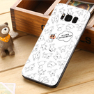 三星 Samsung Galaxy S8 S8+ plus G950FD G955FD 手機殼 軟殼 保護套 小白狗