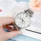 FOSSIL美國品牌Carlie璀璨名媛日曆晶鑽腕錶ES4541公司貨