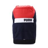 PUMA PLUS 撞色後背包 紅 077292-07