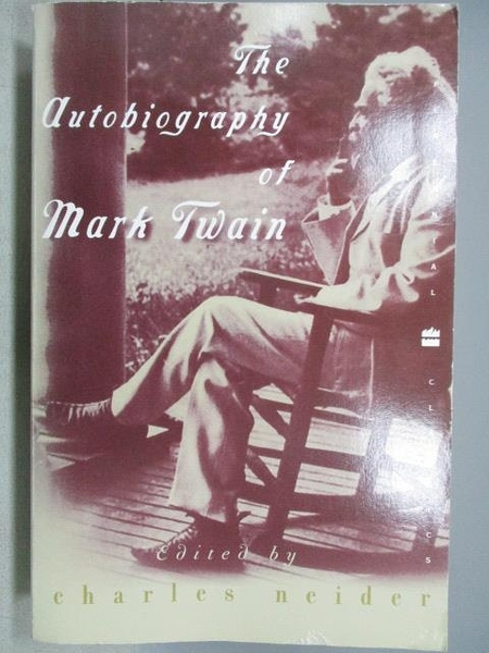 【書寶二手書T1/傳記_MAK】The Autobiography of Mark Twain