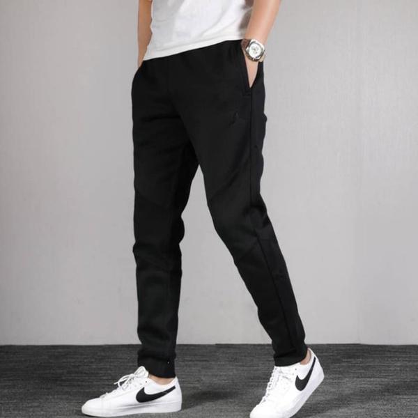 Nike JORDAN 男裝 長褲 休閒 口袋 刷毛 棉質 黑【運動世界】CD8740-010
