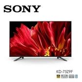 (基本安裝+24期0利率) SONY 索尼 75吋 4K 液晶電視 KD-75Z9F