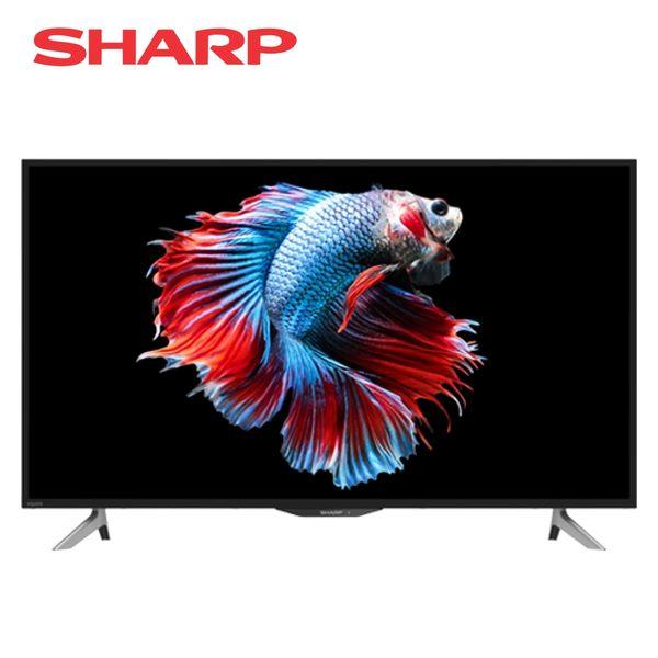 [SHARP 夏普]45吋 4K HDR智慧連網液晶顯示器 4T-C45AH1T
