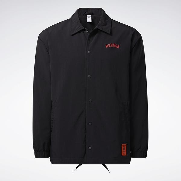 REEBOK X BLACK EYE PATCH 男裝 女裝 聯名 外套 休閒 街頭 鈕扣 側袋 黑【運動世界】GT4617