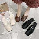 穆勒鞋 包頭半拖鞋女外穿新款時尚懶人涼拖鞋平底穆勒百搭半托單鞋女 寶貝計書