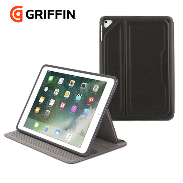 "Griffin Survivor Rugged Folio for iPad 9.7"" (2018/2017)可拆卸式三層防護防摔保護套"