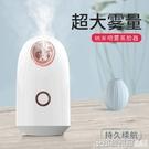 蒸臉儀家用納米補水噴霧機熱噴蒸臉器打開毛孔排毒臉部加濕美容儀 印象家品