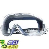 [9美國直購] 防疫眼罩 護目鏡 安全眼鏡 Uvex Stealth OTG Safety Goggles with Anti-Fog/Anti-Scratch Coating (S3970DF )