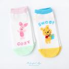 襪子 手繪迪士尼系列女短襪 柒彩年代【NRS18】