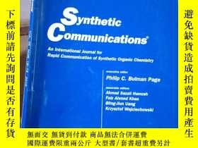 二手書博民逛書店Synthetic罕見Communications VOL.46