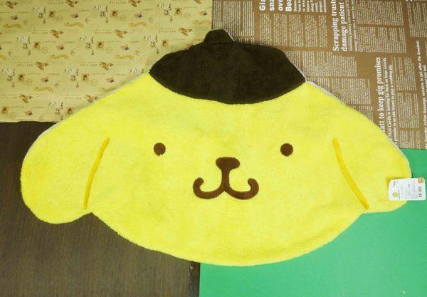 【震撼精品百貨】Pom Pom Purin 布丁狗~地墊-大頭造型-黃色