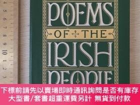 二手書博民逛書店Poems罕見of Irish people the culture and history of Ireland