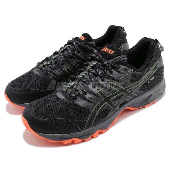 Asics 慢跑鞋 Gel-Sonoma 3 GTX 三代 Gore-Tex 黑 灰 戶外運動鞋 防水 男鞋【PUMP306】 T727N002