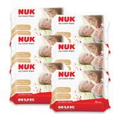 NUK - 嬰兒純棉乾濕兩用巾80抽 6包/串