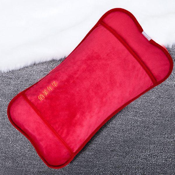 熱水袋 加長電熱水袋充電防爆暖水袋暖手寶電暖寶寶暖腰暖宮頸椎毛絨拆洗 城市玩家