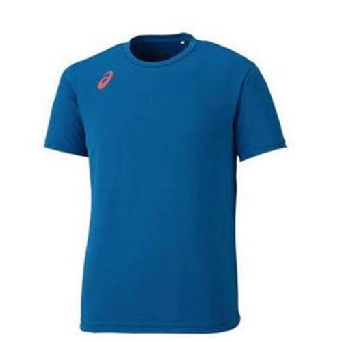 亞瑟士 ASICS 排球印花 男 短袖T恤 - 2053A004-400 藍X橘[陽光樂活=]