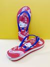 【震撼精品百貨】Hello Kitty 凱蒂貓~台灣製Hello kitty正版成人45周年限定款夾腳拖鞋-紅色#19123