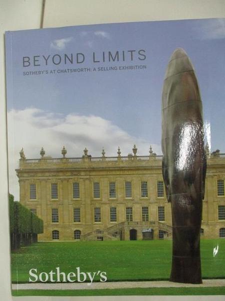【書寶二手書T1/收藏_DSM】Sotheby s_Beyond Limits:A Selling Exhibition_9/9/13-27/10/13