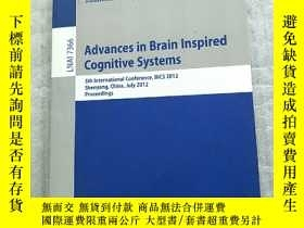 二手書博民逛書店Advances罕見in Brain Inspired COGN