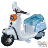 TOMICA多美迪士尼小汽車 冰雪奇緣2 雪寶摩托車 (TAKARA TOMY) 14024