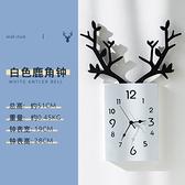 北欧轻奢客厅挂钟创意时尚个性艺术时钟挂墙电子钟家用墙面钟饰