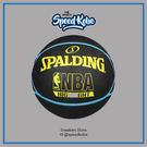 SPALDING 籃球 NBA Highlighter 五芒星 藍黃 室外 7號球 SPA83198【SP】