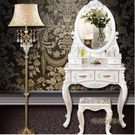 歐式梳妝台小戶型迷你 臥室經濟型公主化妝台桌凳子現代簡約白色MBS「時尚彩虹屋」