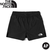 【The North Face 女 透氣排汗彈性短褲AP《黑》】539O/運動短褲/休閒短褲