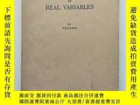 二手書博民逛書店Functions罕見of Real Variables[實變函