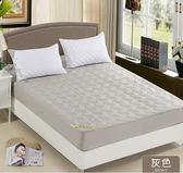 床罩棉質床笠單件加厚夾棉床罩1.5米1.8m床全棉床墊套席夢思保護套1.2