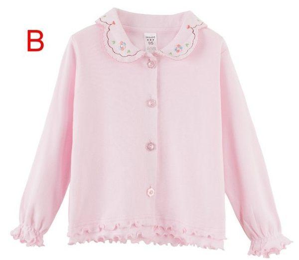 韓版《氣質繡花款》甜美百搭襯衫