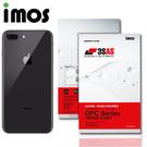 iMos APPLE iPhone 8 Plus 3SAS 疏油疏水 背面保護貼