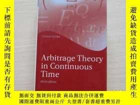 二手書博民逛書店Arbitrage罕見Theory in Continuous