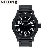 NIXON手錶 原廠總代理 A916-001 The 46 黑色 潮流時尚鋼錶帶 男女適用 運動潛水 生日 情人節禮物