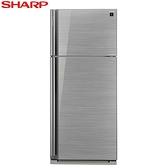 贈全家商品卡500元 SHARP 夏普 雙門583L一級能變頻電冰箱 SJ-GD58V-SL **含基本安裝+舊機回收**
