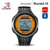 大毛生活館●ALATECH Runaid10 藍牙跑步運動錶 (橘黑)
