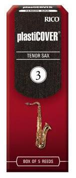 【金聲樂器】美國Rico Plasticover Tenor Sax 3號 次中音 薩克斯風 竹片 黑竹片 5片裝