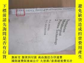 二手書博民逛書店TECHNICIAN罕見METALLURGICAL PROCES