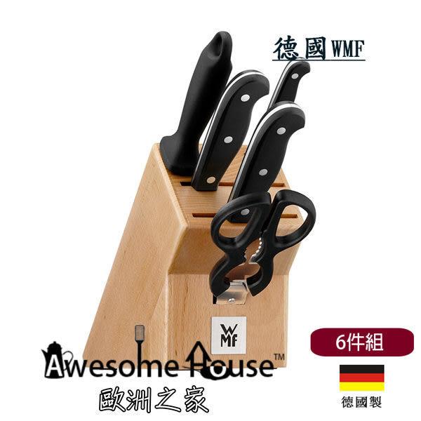 德國 WMF Spitzenklasse Plus 6件 刀具組 (含中華菜刀 剁刀 等6入) 刀 廚房刀 德製 #1895859992