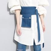 腰封 牛仔腰封外搭外穿配襯衫襯衣女寬腰帶裝飾腰包布皮帶束腰綁帶夏季 小衣里大購物