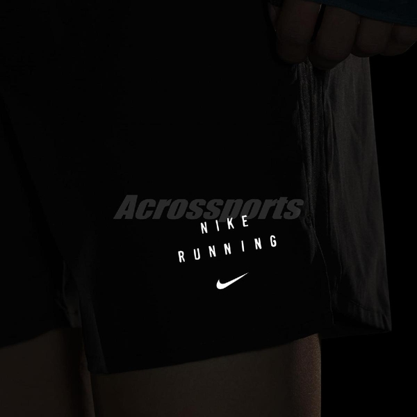 Nike 短褲 Challenger Run Division Shorts 黑 黑 男款 膝上 路跑 訓練 運動休閒 【ACS】 DA0409-010